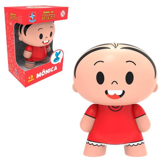 Toy Art Mônica Produto e Embalagem Estrela