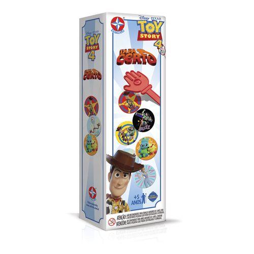Jogo Tapa Certo Toy Story 4 Embalagem Estrela