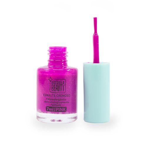 Esmalte-Cremoso-Pink-destampado-Produto-Estrela-Beauty