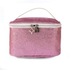 Frasqueira-Glitter-Rosa-frente-Produto-Estrela-Beauty