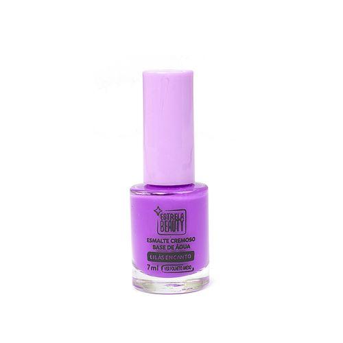 Esmalte-Hipoalergenico-Base-de-Agua-Lilas-Encanto---Estrela-Beauty