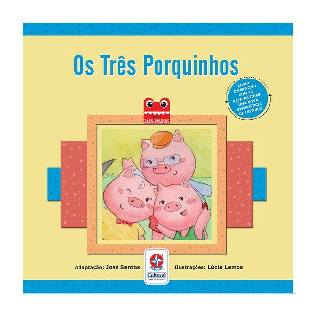 Livro-Os-Tres-Porquinhos--Estrela-Cultural