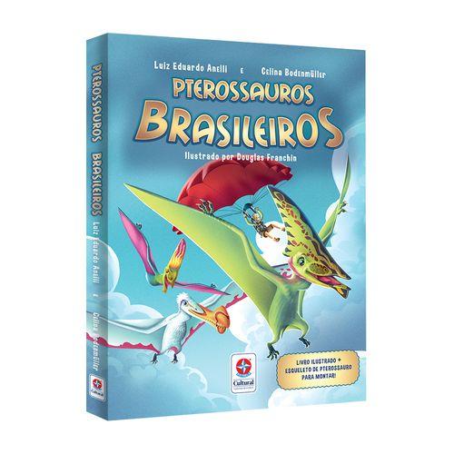 Livro-Pterossauros-Brasileiros-Naturalmente-Estrela-Cultura