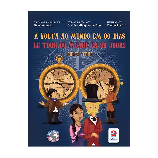 Livro-A-Volta-ao-Mundo-em-80-dias-bilingue-frances-Estrela-Cultural