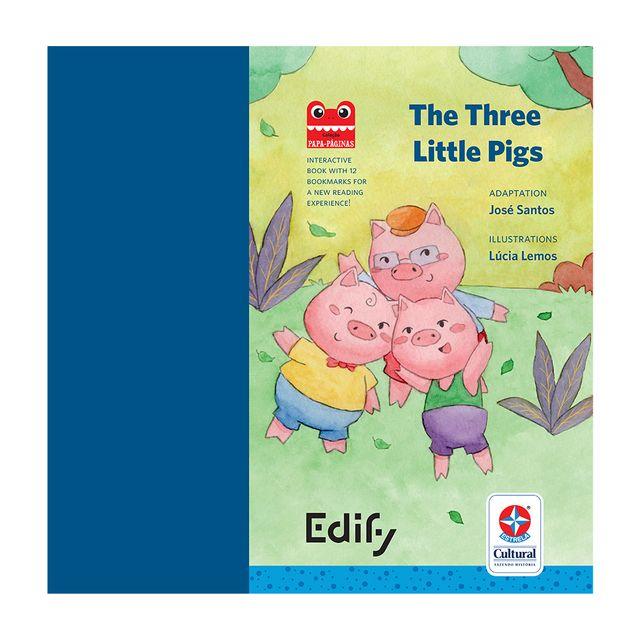 Livro-Os-Tres-Porquinhos-Bilingue-Ingles-Estrela-Cultural