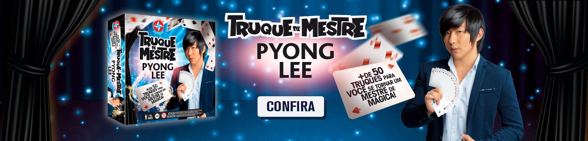Jogo Truque de Mestre Pyong Lee