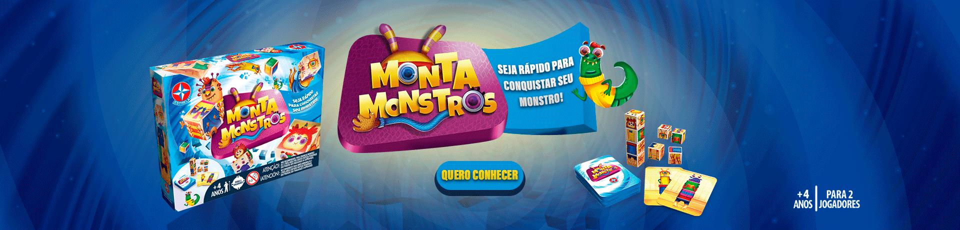 Jogo Monta Monstros