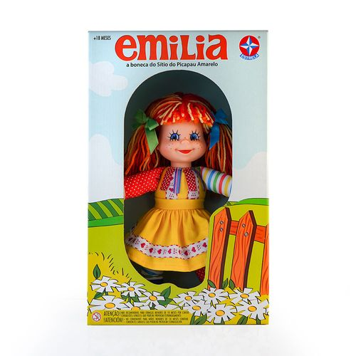 Boneca-Emilia-Sitio-do-Pica-Pau-Amarelo---Estrela